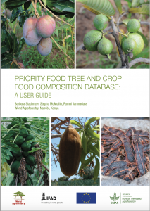 Priority Food Tree and Crop Food DB User Guide